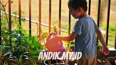 berkebun, manfaat berkebun, psikologi anak, anak berkebun