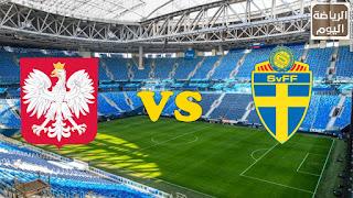 نتيجة المباراة بث مباشر بين منتخبين السويد و بولندا في ( يورو 2020 )  23/6/2021
