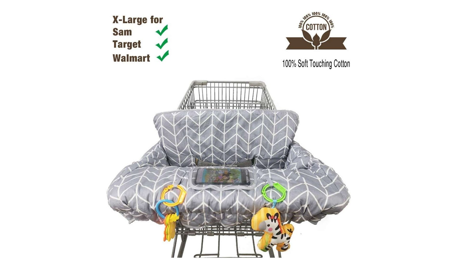 Best Shopping cart cover for newborn baby choice