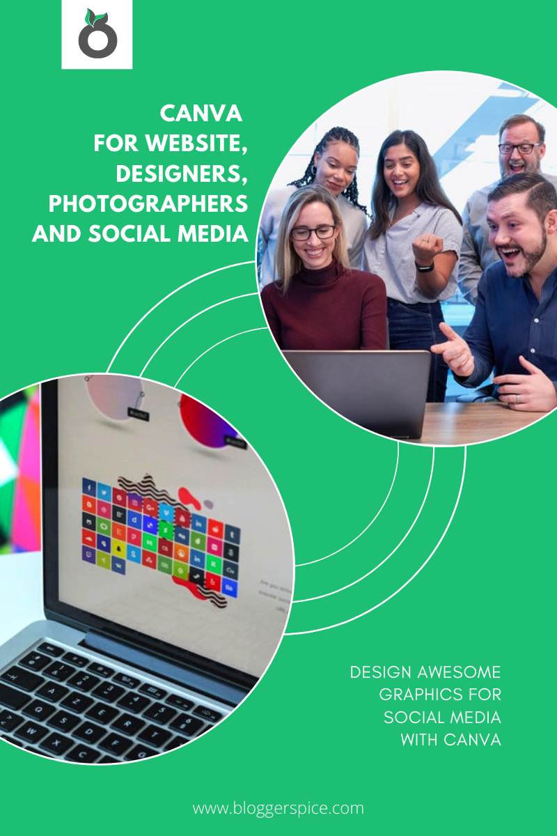 Canva for Website, Designers, Photographers and Social Media