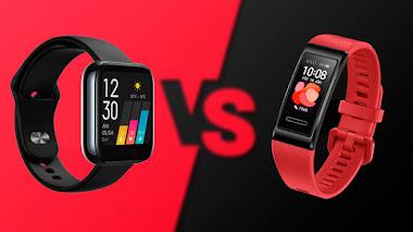 Smartwatch versus pulsera inteligente: las cinco principales diferencias 2021