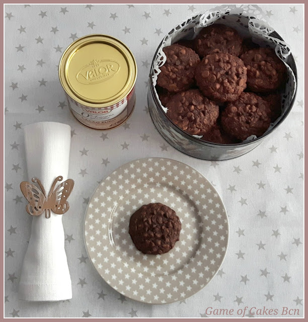 Cookies de Chocolate y Avena