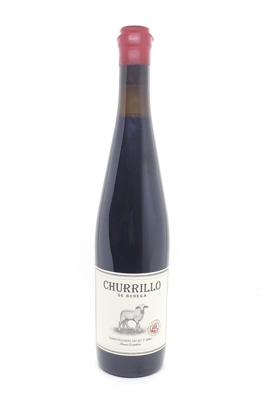 Churrillo de Bodega 2016. Vino sin D.O. Castilla León. Sibaritastur