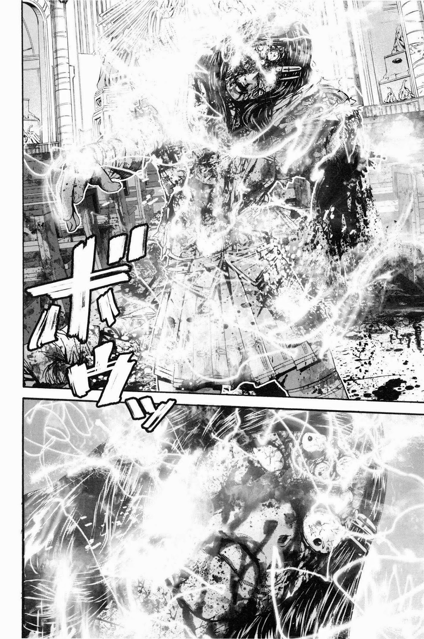 Resident Evil Biohazard Marhawa desire chapter 27: kén nhộng trang 18