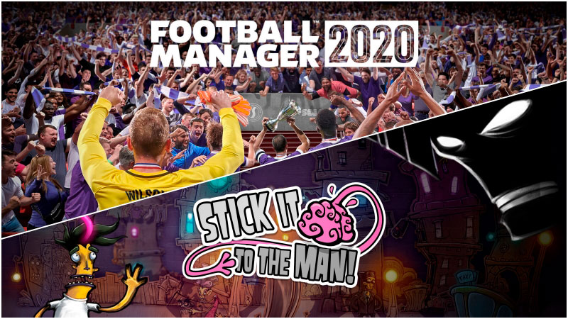 Stick It To The Man y Football Manager 2020