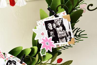 Holiday Memories Wreath by Wendy Sue Anderson
