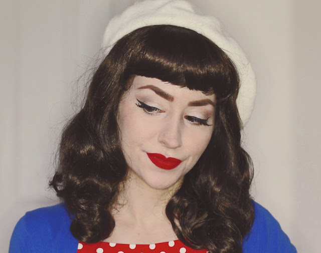 Annabelle's Wigs Becca dark brown Bettie Page style wig review