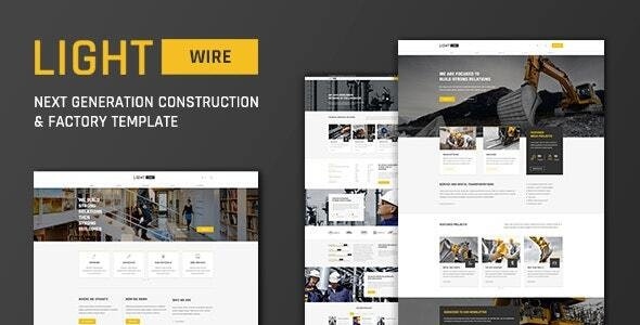 Construction And Industry Drupal Theme