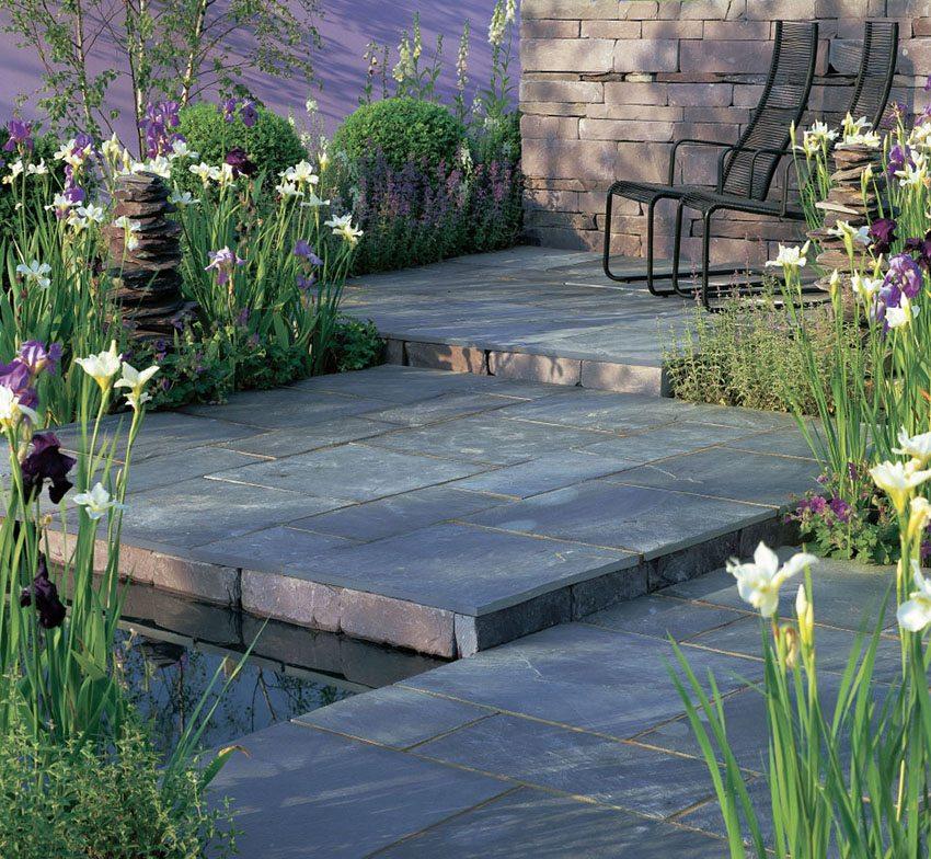 Marzua todas las ventajas de los suelos de pizarra para - Suelo pizarra exterior ...