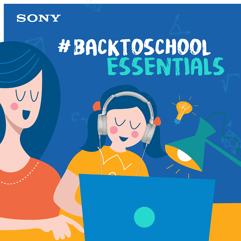 """Sony Philippines highlights its headphones as """"back-to-school essentials"""""""