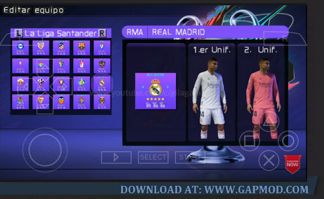 Download PES Mod FIFA 21 PPSSPP Android 700MB Best Graphics HD