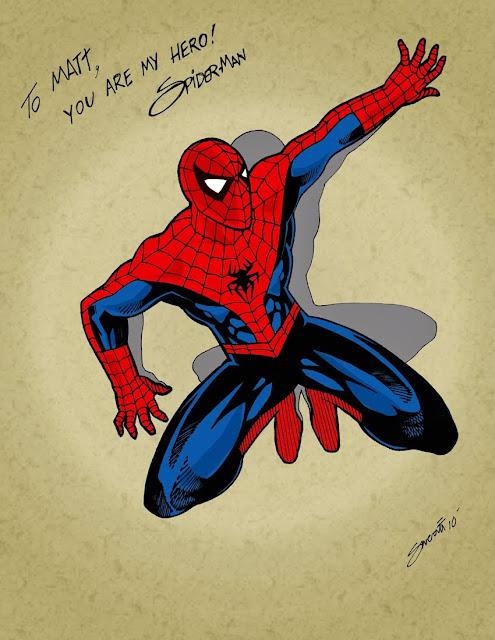 Spider-man Color Art