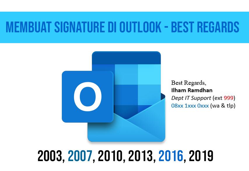 best regards di email,contoh best regards email,contoh signature email,cara membuat best regards