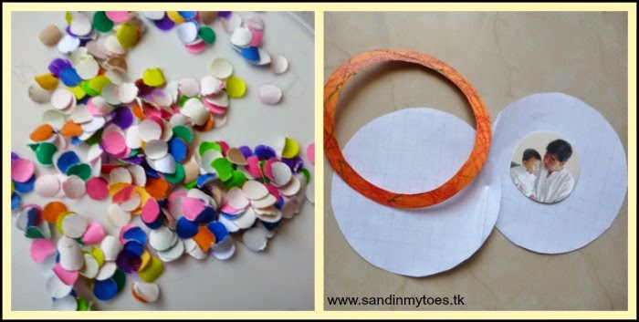 Material for Photo Suncatcher - Handmade Gift Idea