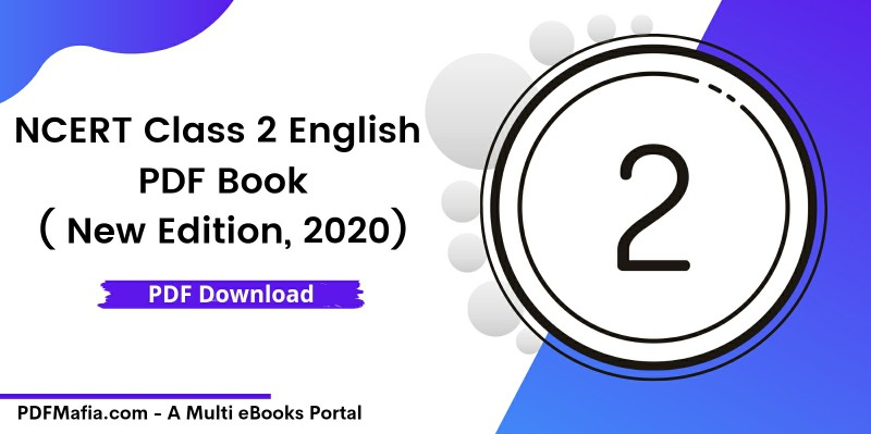 NCERT Class 2 English Book PDF (New Edition, 2020)