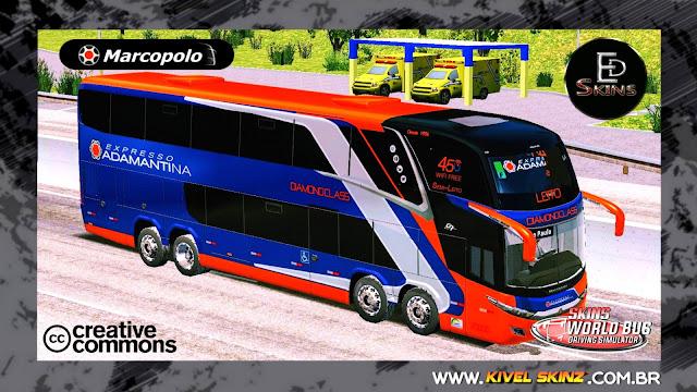 PARADISO G7 1800 DD 8X2 - VIAÇÃO EXPRESSO ADAMANTINA