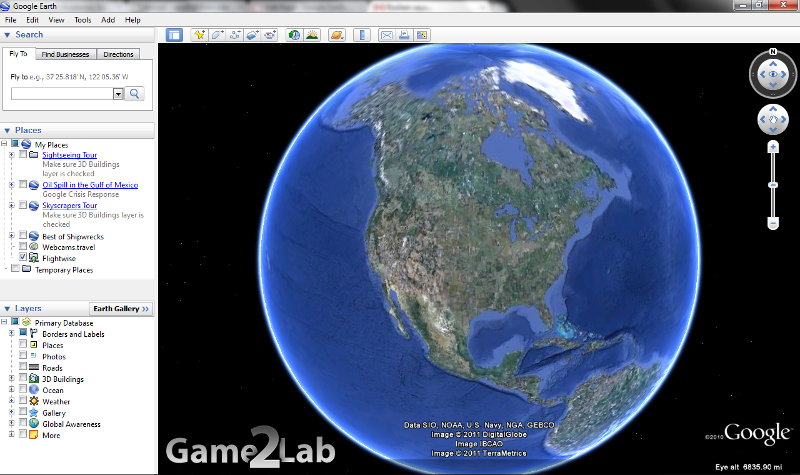 Google Earth : OpenGL