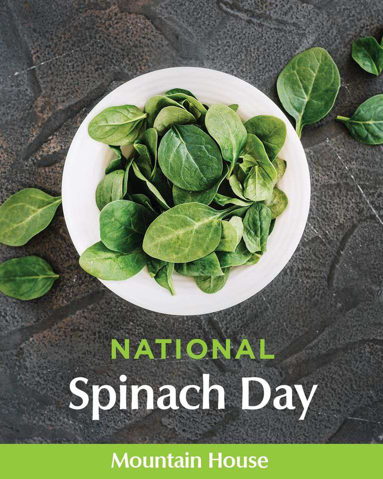 National Spinach Day Wishes Awesome Picture