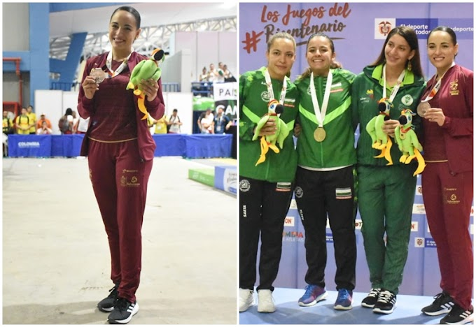 Karate Do dio el segundo bronce para el Tolima en los Juegos Nacionales 2019, con Stéfanny Medina