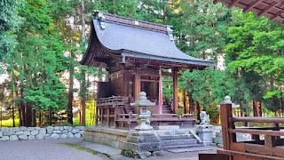 人文研究見聞録:若宮神社(若宮八幡神社) [滋賀県]