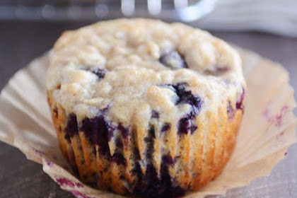 HEALTHY YOGURT OAT BLUEBERRY MUFFINS RECIPE
