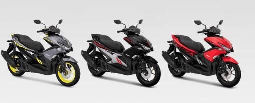 Yamaha Aerox Pilihan Warna Standar