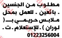 وظائف وسيط الاسكندرية -بائعين