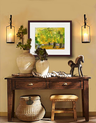 how to hang and display art http://schulmanart.blogspot.com/2016/11/how-to-hang-art-correctly.html