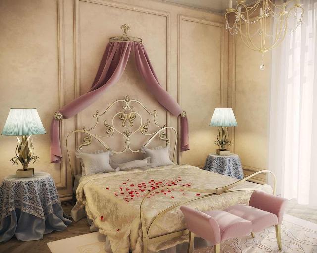 thiết kế phòng ngủ đẹp mơ màng