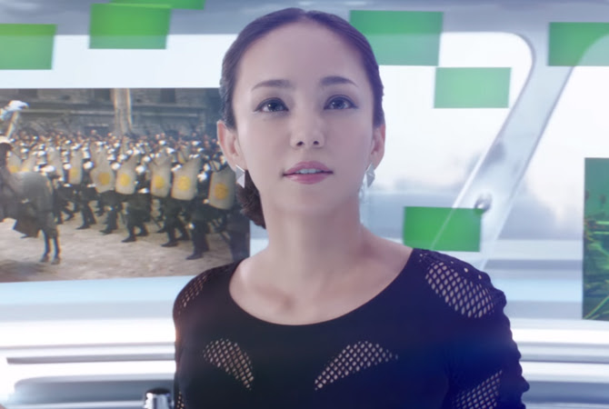 Namie Amuro x Hulu - Do it for love | Random J Pop