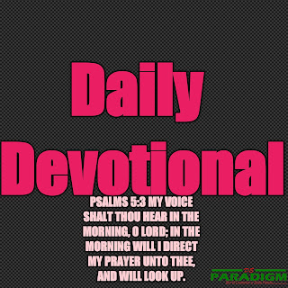 Today's Devotional |Wed| [IMPORTUNITY IN PRAYER]