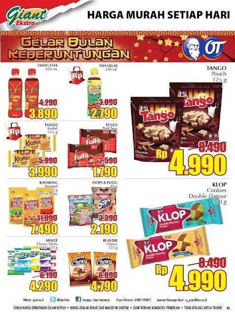 Katalog Giant Supermarket Ekstra Periode 12-15 Januari 2017