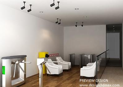 Design Modis Interior Showroom Mewah Berkualitas