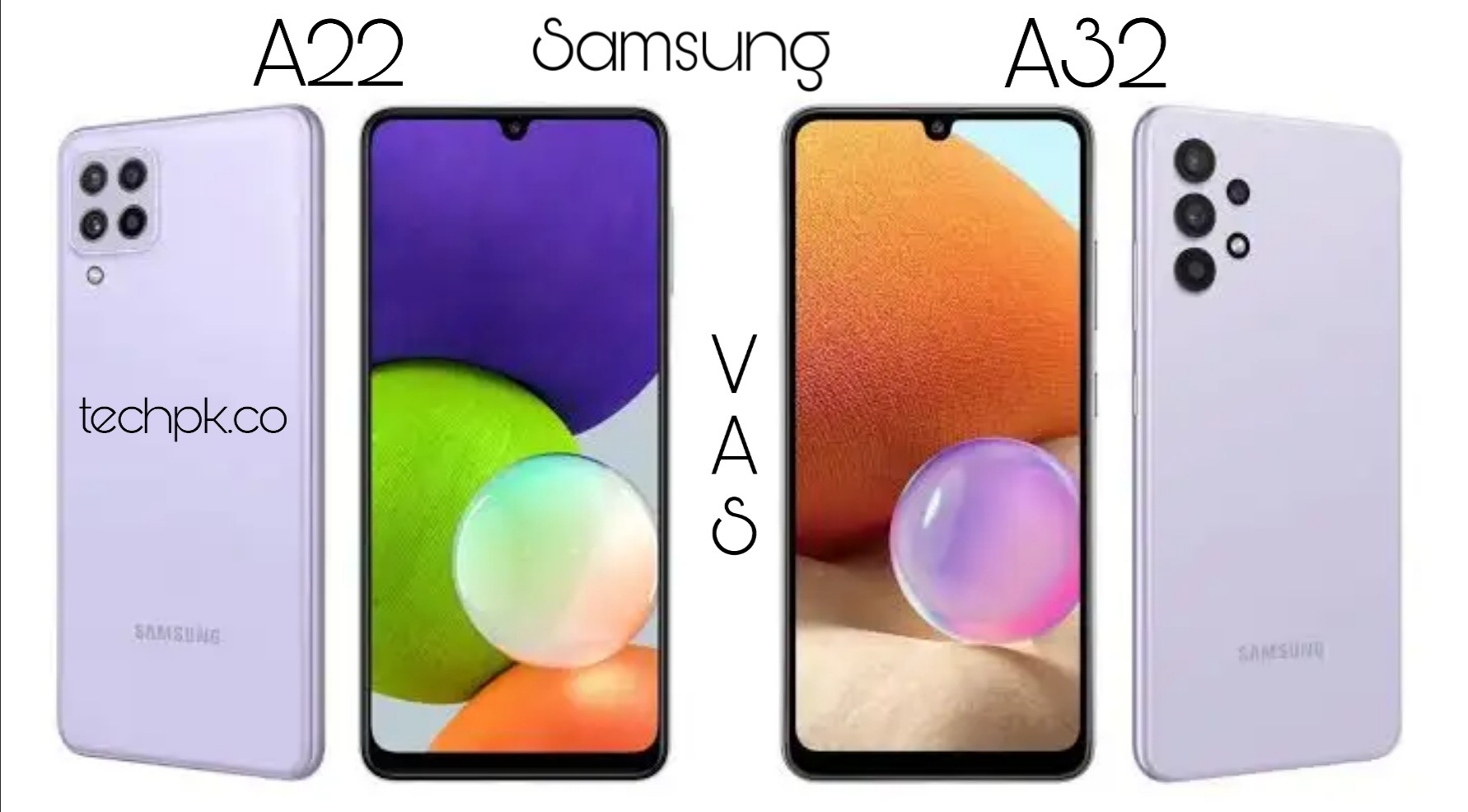 5 Differences between Samsung Galaxy A22 and Samsung Galaxy A32