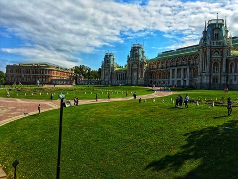 caryca Katarzyna II, rezydencja carycy Moskwa, Moskwa atrakcje, najlepsze atrakcje Moskwy, park w Moskwie