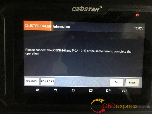 2018 Dodge Ram mileage correction by obdstar odomaster 3
