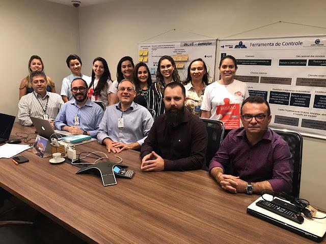 Santa Casa recebe visita de analista em gestão acadêmica de hospitais de ensino