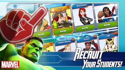 MARVEL Avengers Academy Mod Apk (Money, Free Store) - Jayawaru