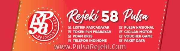 PulsaRejeki.com Web Resmi Server Rejeki 58 Pulsa Termurah Saat Ini