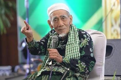 Innalillah, Ulama Syik Indoneh, K.H Maimoen Zubair Meuninggai di Mekkah