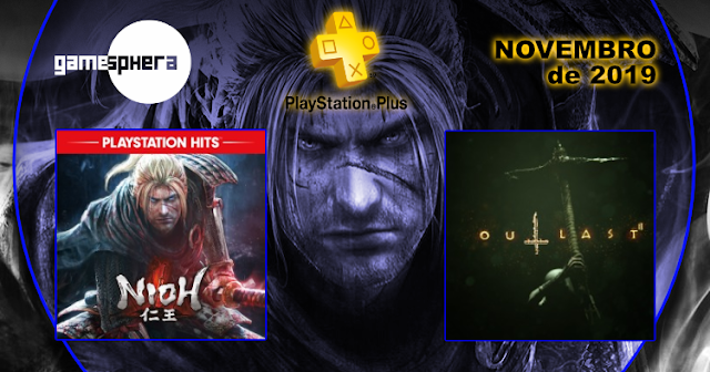 Playstation Plus - Novembro de 2019