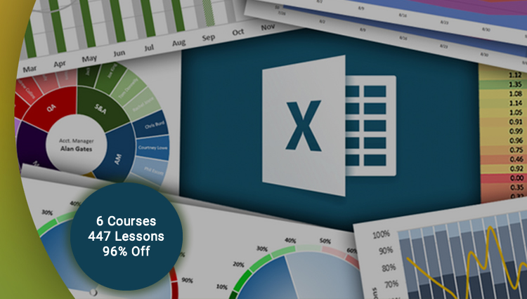 Ultimate Microsoft Excel Course Bundle Discount - 06 Courses