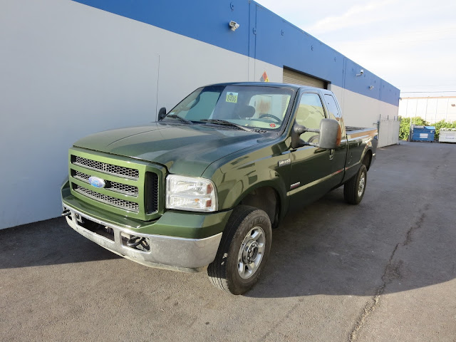 Ford F-350 with color change at Almost Everything Auto Body.