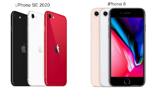 iPhone SE 2020 vs iPhone 8 images