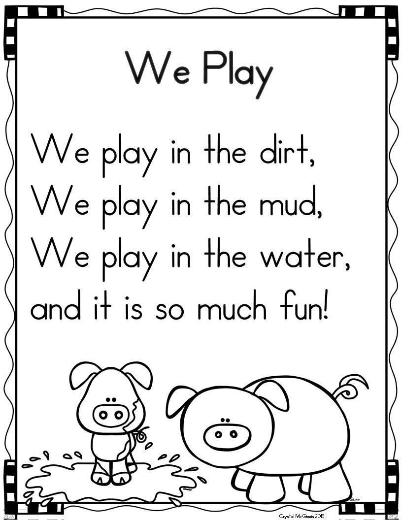 Phonics fluency practice with poetry : propanop