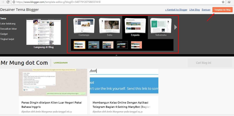 template blogger terbaru responsive dan cepat