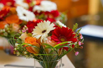 cắm hoa tươi lâu