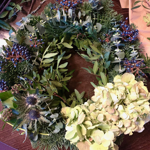 Wreath Making with Living Flowers at The Waterside Hotel