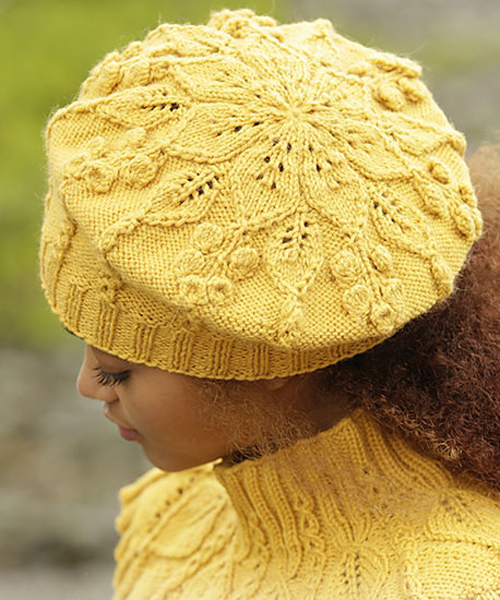 Hello Sunshine Beret - Free Pattern