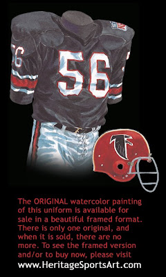 Atlanta Falcons 1969 uniform
